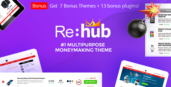 Download REHub v9.9.5 - Price Comparison, Business Community