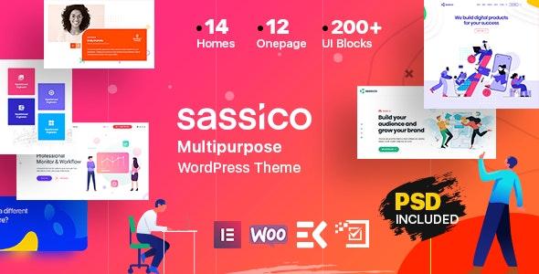 Download Sassico v1.7 - Multipurpose Saas Startup Agency WordPress Theme