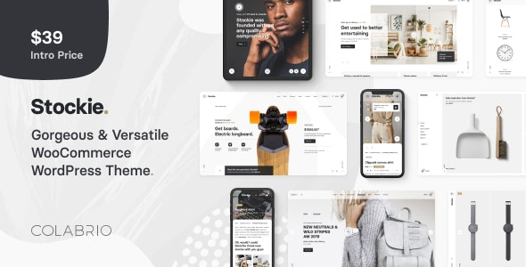 Download Stockie v1.1.2 - Multi-purpose Creative WooCommerce Theme
