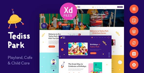 Download Tediss v1.0.3 - Play Area & Child Care Center WordPress Theme
