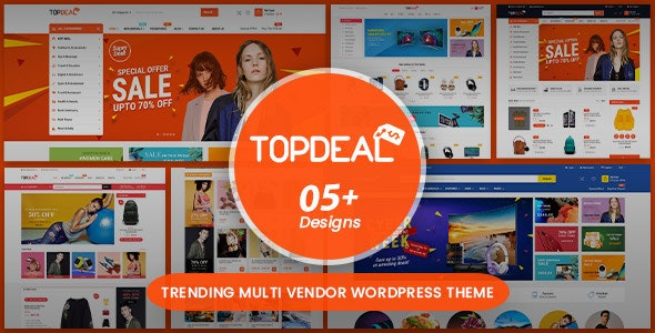 Download TopDeal v1.7.0 - Multipurpose Marketplace WordPress Theme nulled