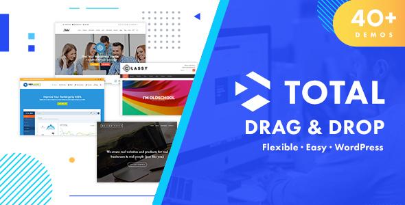 Download Total v4.9.8 - Responsive Multi-Purpose WordPress Theme