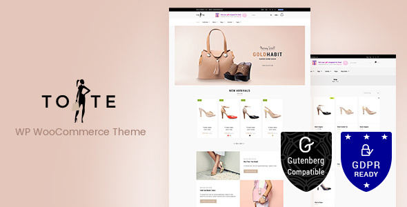 Download Tote v1.9 - WordPress WooCommerce Theme