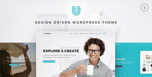 Download Unicon v2.7.2 - Design-Driven Multipurpose Theme