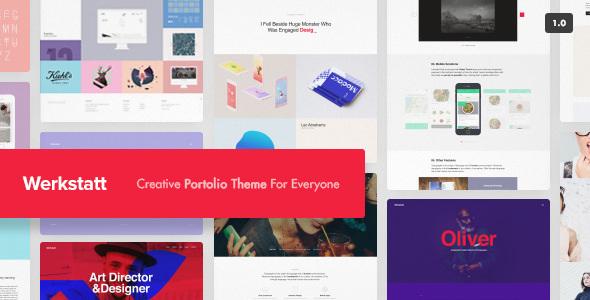 Download Werkstatt v4.2.3.6 - Creative Portfolio Theme nulled
