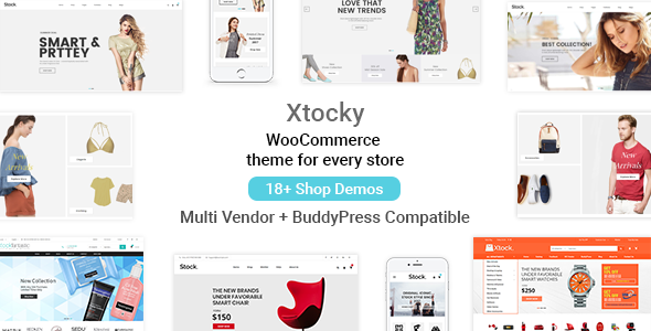 Download Xtocky v2.0.4 - WooCommerce Responsive Theme