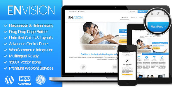 Download Envision v3.1.1 - Responsive Retina Multi-Purpose Theme