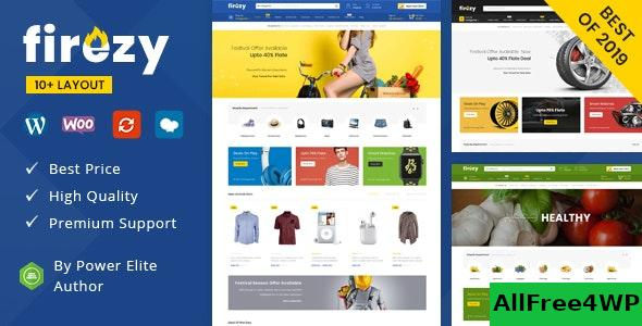 Firezy - Multipurpose WooCommerce Theme (18 Dec 2020)
