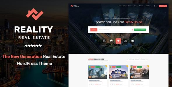 Download Reality v2.5.1 - Real Estate WordPress Theme