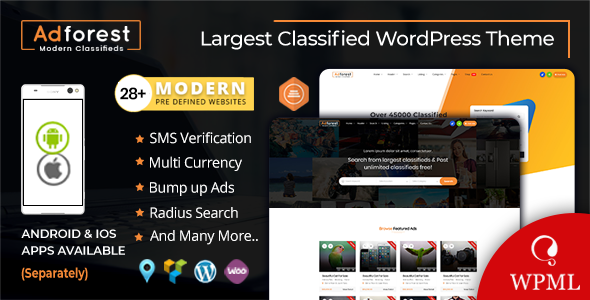 Download AdForest v4.3.3 - Classified Ads WordPress Theme