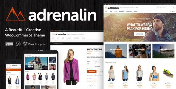 Download Adrenalin v2.0.7 - Multi-Purpose WooCommerce Theme