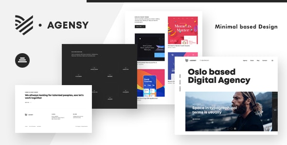 Agensy v1.0 - Digital Lab & Creative Solutions Theme