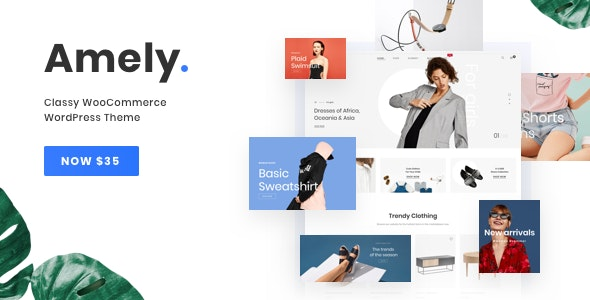 Download Amely v2.5.0 - Fashion Shop WordPress Theme for WooCommerce
