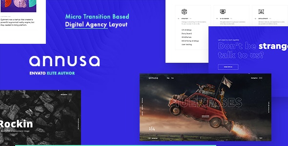Download Annusa v1.0.0 - Modern Digital Bakery WordPress Theme