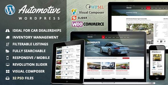 Download Automotive v11.8 - Car Dealership Business WordPress Theme
