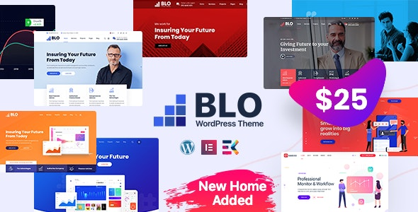 Download BLO v1.6 - Corporate Business WordPress Theme