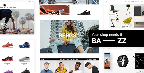 Download Bazz v1.3 - WooCommerce Theme