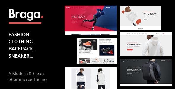 Download Braga v1.0 - Fashion Theme for WooCommerce WordPress