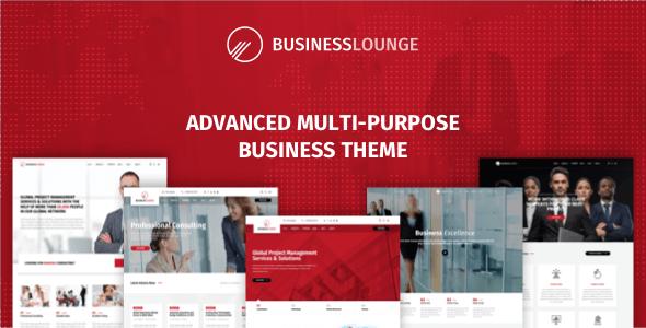 Download Business Lounge v1.9 - Multi-Purpose Business Theme