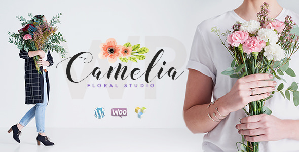 Download Camelia v1.2.4 - A Floral Studio Florist Theme
