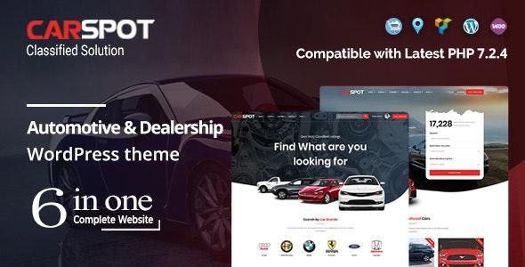 Download CarSpot v2.2.4 - Automotive Car Dealer WordPress Classified Theme