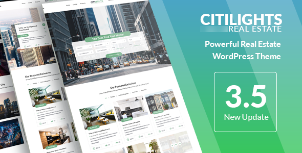 Download CitiLights v3.5.8 - Real Estate WordPress Theme