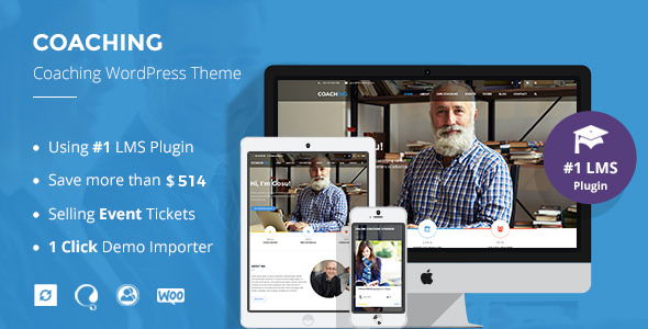 Download Colead v3.3.1 - Coaching & Online Courses WordPress Theme
