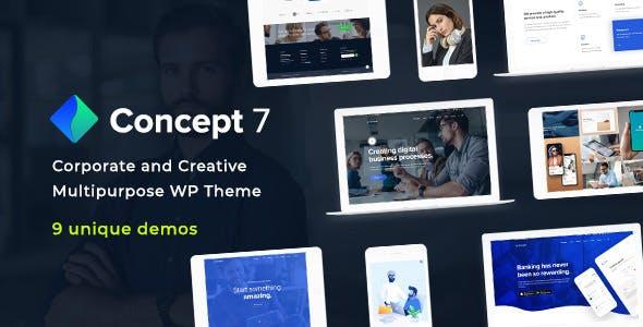 Download Concept Seven v1.5 - Responsive Multipurpose Theme
