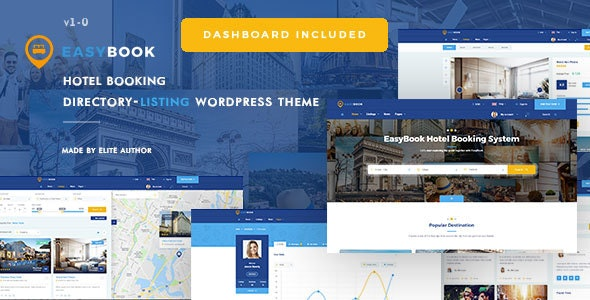 Download EasyBook v1.2.8 – Directory & Listing WordPress Theme