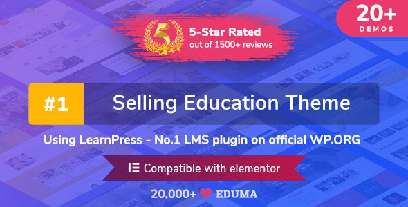 Download Eduma v4.2.4 - Education WordPress Theme