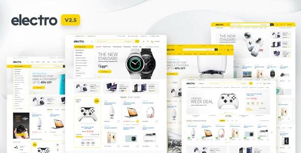 Download Electro v2.5.5 - Electronics Store WooCommerce Theme