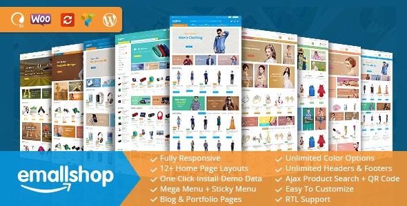 Download EmallShop v2.2.11 - Multipurpose WooCommerce Theme
