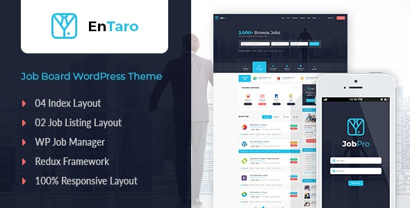 Download Entaro v3.9 - Job Portal WordPress Theme