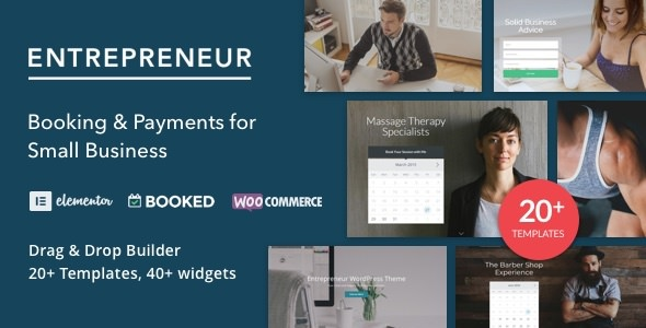 Download Entrepreneur v2.1 - Booking for Small Businesses