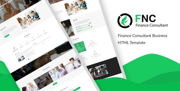 FNC v1.0 - Finance & Consulting, Accounting HTML Template