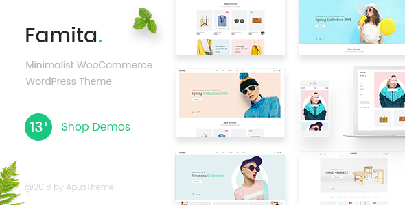 Download Famita v1.22 - Minimalist WooCommerce WordPress Theme