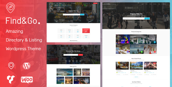 Findgo v1.3.26 - Directory & Listing WordPress Theme