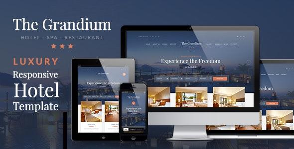 Download Grandium v1.6.3 – Luxury Hotel Theme