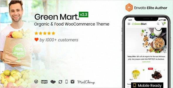 Download GreenMart v2.3.9 - Organic & Food WooCommerce WordPress Theme