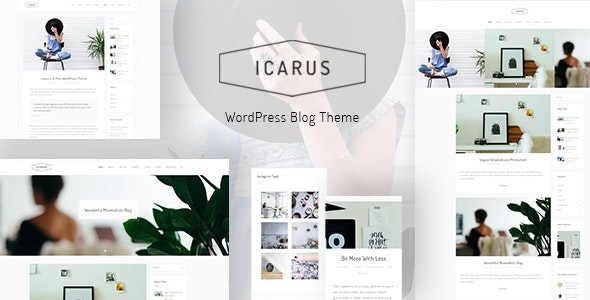 Download Icarus v1.0.0 - Personal Blog WordPress Theme