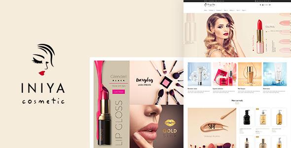 Download Iniya v1.9 - Cosmetic WordPress Theme