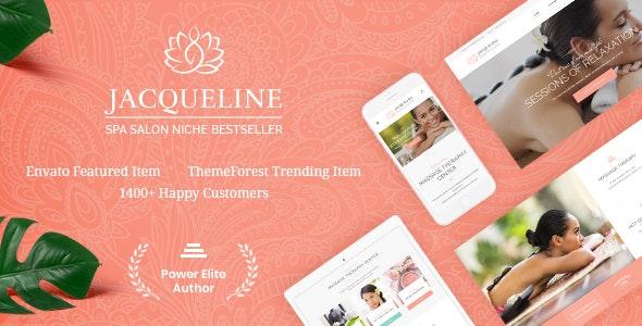 Download Jacqueline v1.6.1 - Spa & Massage Salon Beauty WordPress Theme