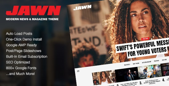 Download Jawn v1.4.2 - Modern WordPress News & Magazine Theme