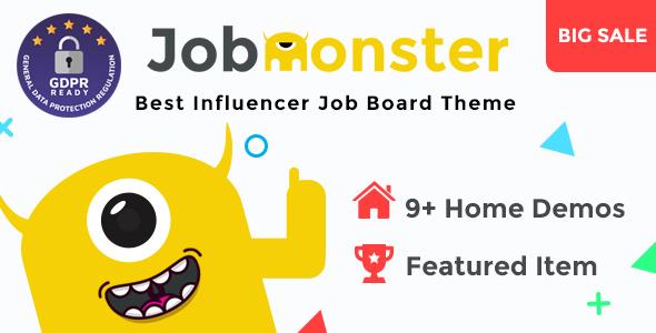 Download Jobmonster v4.6.0.5 - Job Board WordPress Theme