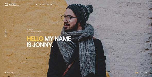 Download Jonny v1.0.7 - Personal WordPress Theme