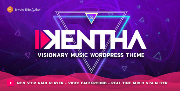 Download Kentha v2.1.6 – Visionary Music WordPress Theme