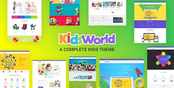 Download Kids Heaven v2.0 - Children WordPress Theme