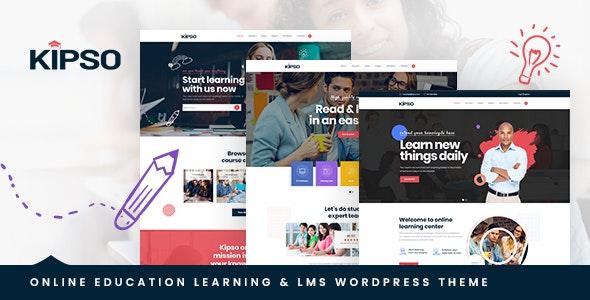 Download Kipso v1.0.1 – Education LMS WordPress Theme