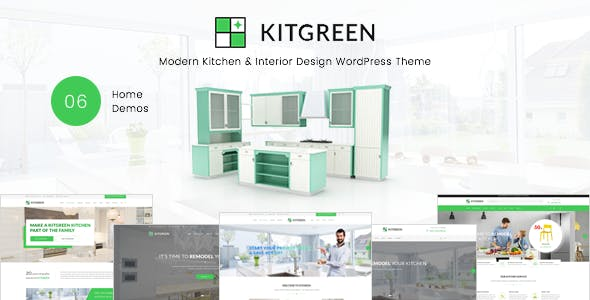 Download KitGreen v1.5.2 - Modern Kitchen & Interior Design