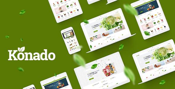 Download Konado v1.0.7 – Organic Theme for WooCommerce